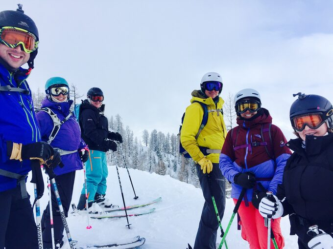 British Ski School Chamonix Group Ski Lessons